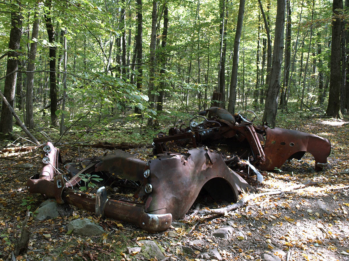 Ramapo Rusty Car Rear