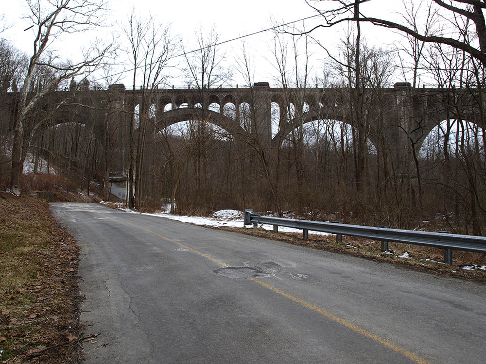 Road Under Paulinskill Viaduct