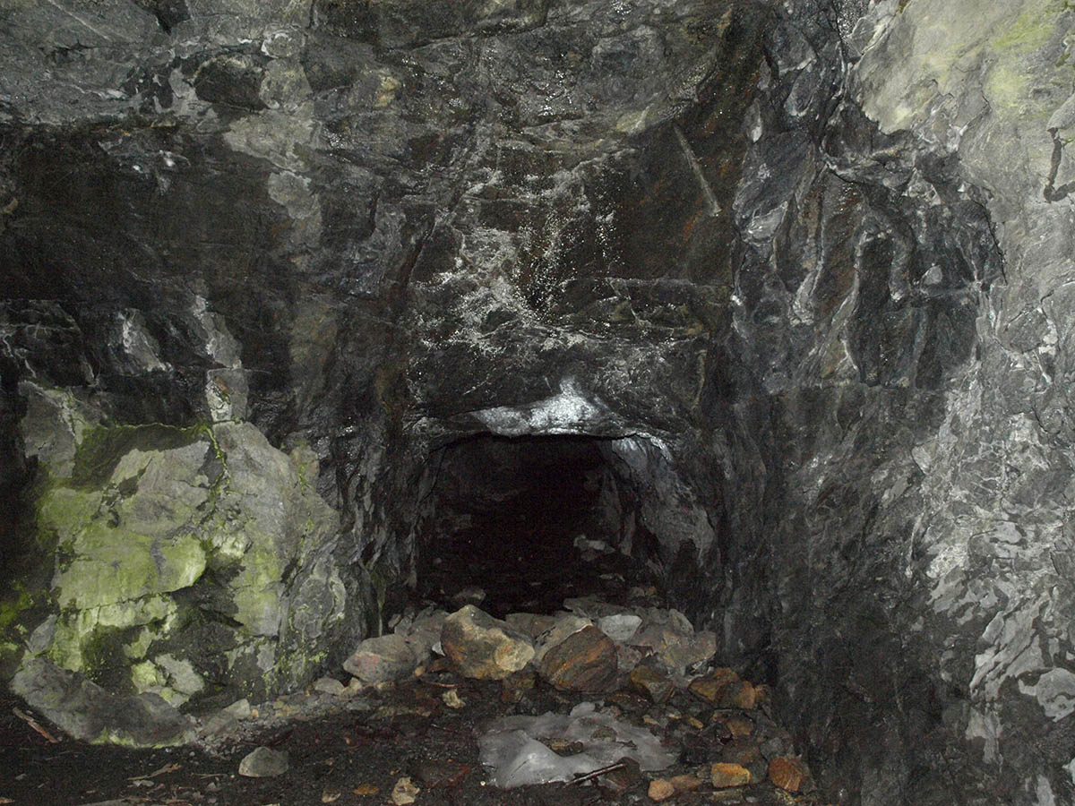 Roomy Mine Shaft Entrance